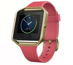 NWB Fitbit Blaze Special Edition Gold And Pink Smart Fitness
