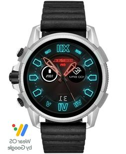DIESEL ON FULL GUARD 2.5 Black Leather 48mm Smartwatch EXPED