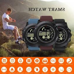 Outdoor Sports Smart Watch Tactial Military Grade Watch Blue
