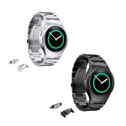Premium Stainless Steel Wrist Smart Watch Band Strap&Connect