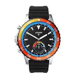 Fossil® Q Crewmaster Silicone Hybrid Smartwatch