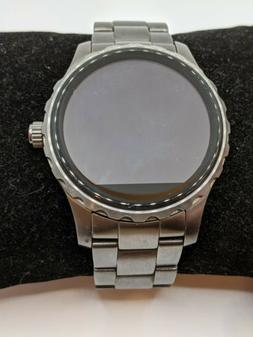 Fossil Q Marshal  Smoke Stainless Steel Touchscreen Smartwat