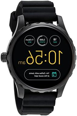 Fossil® Q Marshal Touchscreen Silicone Strap Smart Watch