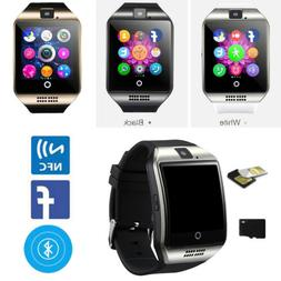 Q18 Bluetooth Smart Watch Phone GSM Call Message Sync For An