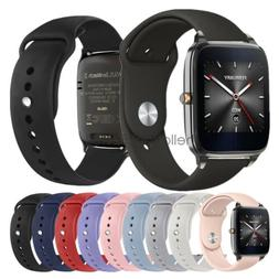 Replacement Silicone Sport Watch Band Strap For ASUS ZenWatc