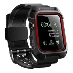 Rugged Band Protective Case Sport For Apple Watch Series 3 2