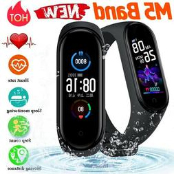 Smart Band Watch Bracelet Wristband Blood Pressure Heart Rat