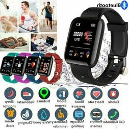 Smart Watch Blood Pressure Heart Rate Monitor Bracelet Wrist