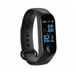 Smart Watch Bluetooth Heart Rate Blood Pressure Fitness Trac