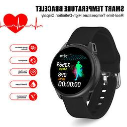 smart watch bracelet body thermometer temperature blood