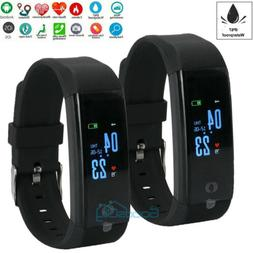 Smart Watch Heart Rate Fitness Step Tracker Bluetooth Monito