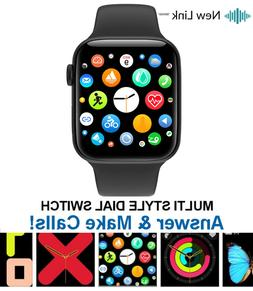 Smart Watch for iPhone iOS Android Phone Bluetooth Waterproo