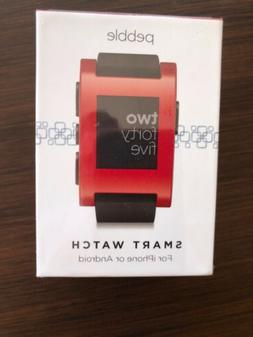 pebble Smart Watch for iPhone And Android New In Sealed Box