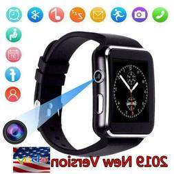 Smart watch iPhone Android IOS Support SIM Bluetooth Smart W