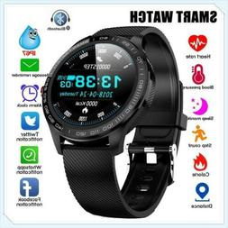Smart Watch Men's ECG + PPG Heart Rate Blood Pressure Oxygen