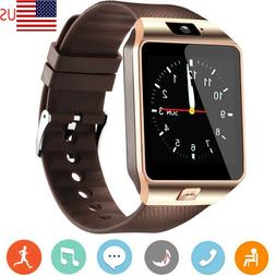 Smart Watch with Bluetooth SIM Card Slot Remote Camera for A
