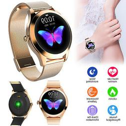 Smart Watch Women KW10 Waterproof Heart Rate Monitoring Stai