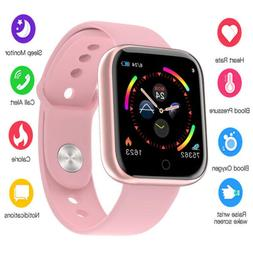 Smart Watch Women Men Heart Rate Fitness Bracelet For iPhone