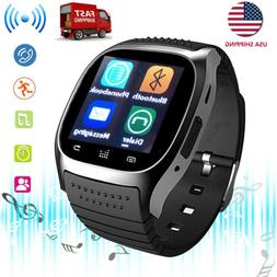 Smart Watch Women Men Smartwatch Handsfree Call for Android