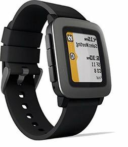 Smart Watches Pebble Time Smartwatch Black...