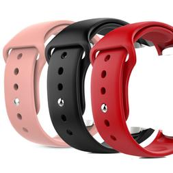 Soft Replacement Silicone Strap Wrist Watch Band For Samsung