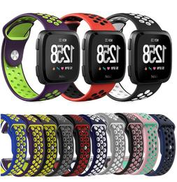 Sport Silicone Replacement Wrist Band Watch Strap For Fitbit