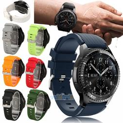 Sport Silicone Wrist Band Strap For Samsung Gear S3 Classic/