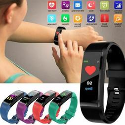 Sports Smart Watches Bracelet Heart Rate Blood Pressure Step