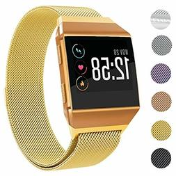 SWEES Metal Bands Compatible Fitbit Ionic Smart Watch, Milan