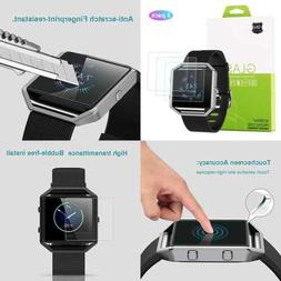 ANCOOL Tempered Glass Screen Protector For Fitbit Blaze Smar