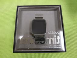 Pebble Time Steel Smartwatch Apple Android - Dark Green Band