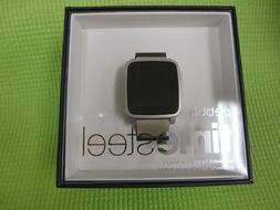 Pebble Time Steel Smartwatch for Apple/Android Devices - Gra