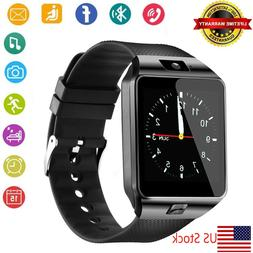 Touch Screen Bluetooth Smart Watch with SIM Card Slot for Sa