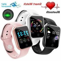 Touch Smart Watch Women Men Heart Rate Bracelet For iPhone A