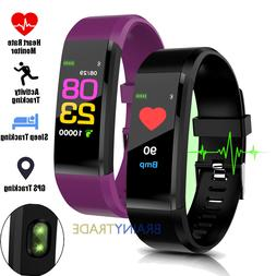 Unisex Fitness Smart Watch Activity Tracker Heart Rate For F