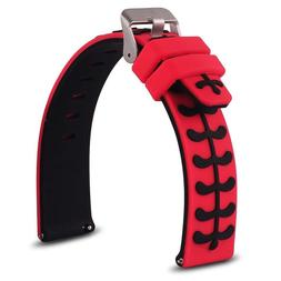 Universal Smart Watch Bands Soft Silicone Sport Quick Releas