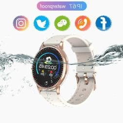 US Men Women Waterproof Bluetooth Smart Watch Phone Mate For