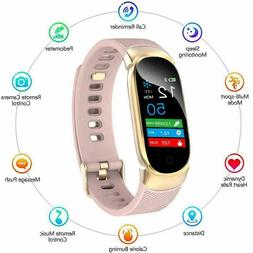US Women&Girl Waterproof Bluetooth Smart Watch Phone Mate Fo