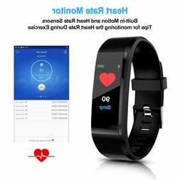 USA IP67 Waterproof Smart Watch Heart Rate Monitor Pedometer