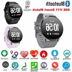 V11 Smart watch IP67 waterproof Tempered glass Fitness track