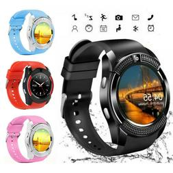 V8 Smart Wrist Watch bluetooth Camera SIM GSM Card Samsung F