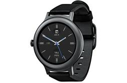 LG Watch Style W270 45.7mm Titanium Stainless Steel Black Cl