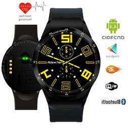 3G Android Smart Watch Phone WiFi Touch Screen Heart Rate Mo