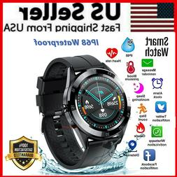 Waterproof Bluetooth Smart Watch Phone Mate Heart Rate Track