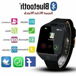 Waterproof Bluetooth Smart Watch W/Cam Phone Mate For iphone