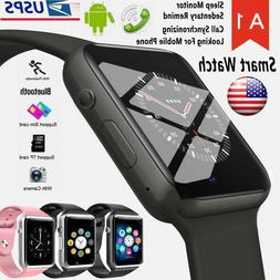 waterproof bluetooth smart watch w camera phone