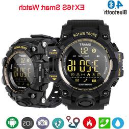 Waterproof EX16S Smart Sport Watch Bluetooth Pedometer Men M