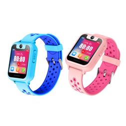 Waterproof GPS Tracker Smart Kids Child Watch Anti-lost SOS