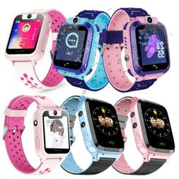 Waterproof Kids Child GPS Tracker Smart Watch Anti-lost SOS