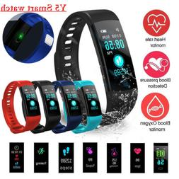 Waterproof Smart Watch Heart Rate Monitor Bracelet Wristband